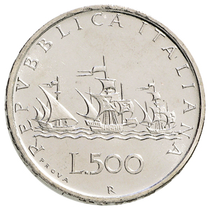 500 Lire Argento 1957